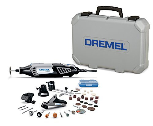 Dremel 4000-4/34 High Performance Rotary Tool Kit with Variable Speed Rotary Tool, 4 Attachments and 34 Accessories