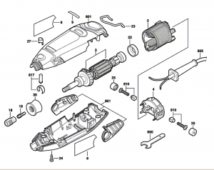 Dremel Parts