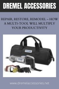 Repair, Restore, Remodel – How a Multi-Tool Will Multiply Your Productivity